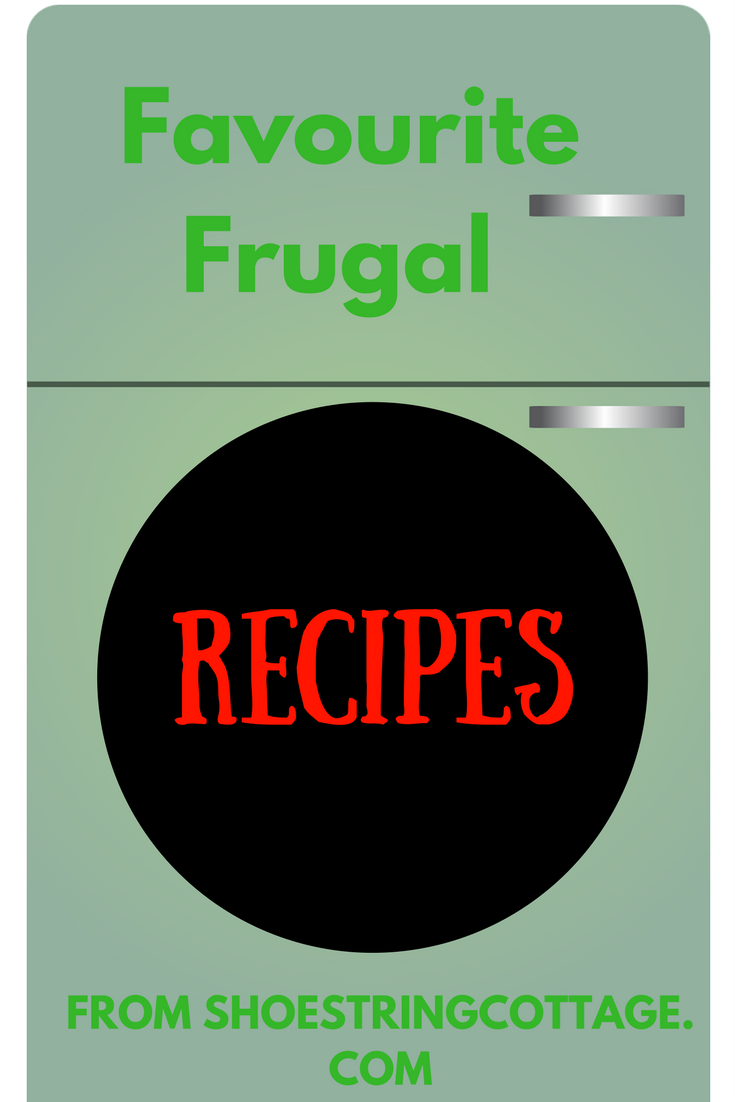 Favourite frugal recipes