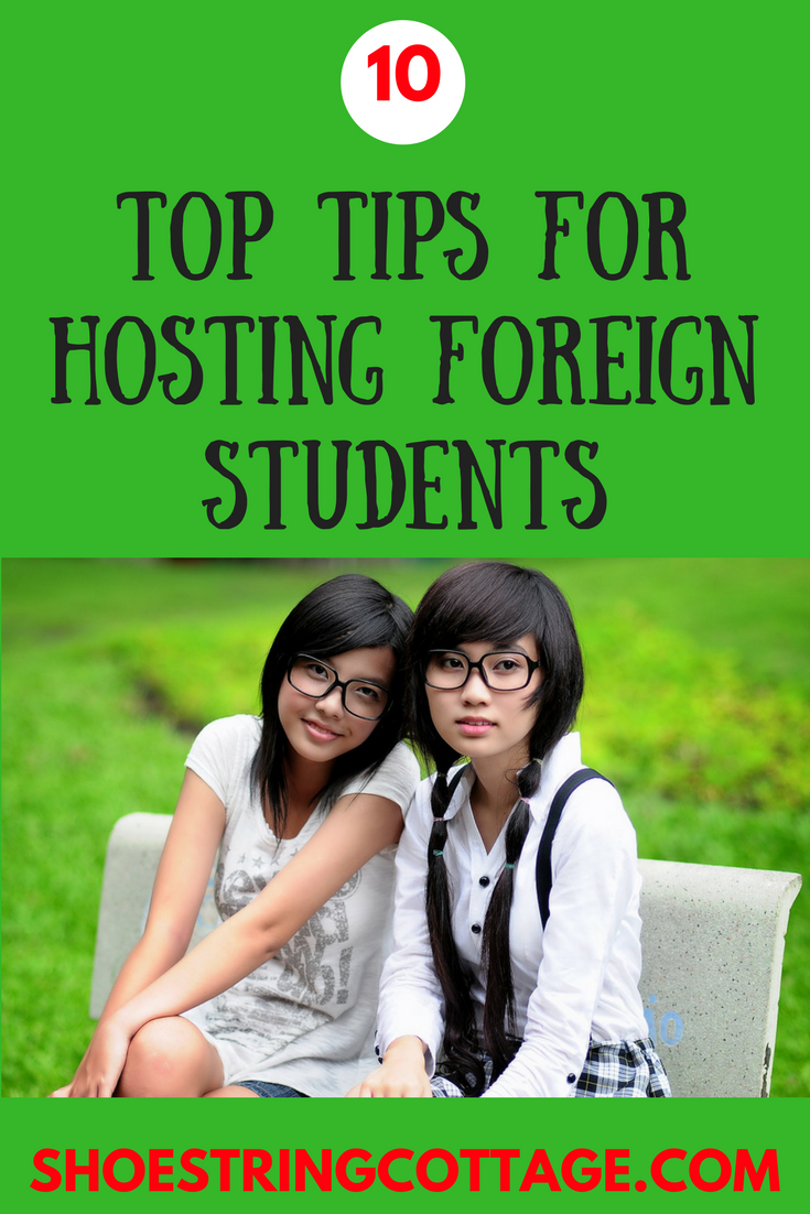 hosting foreign students