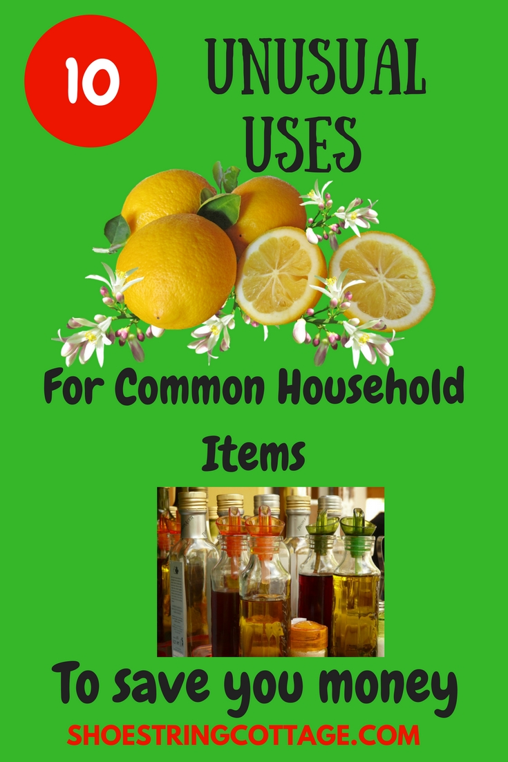 unusual uses for common household items