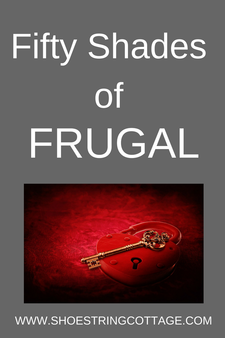 fifty shades of frugal
