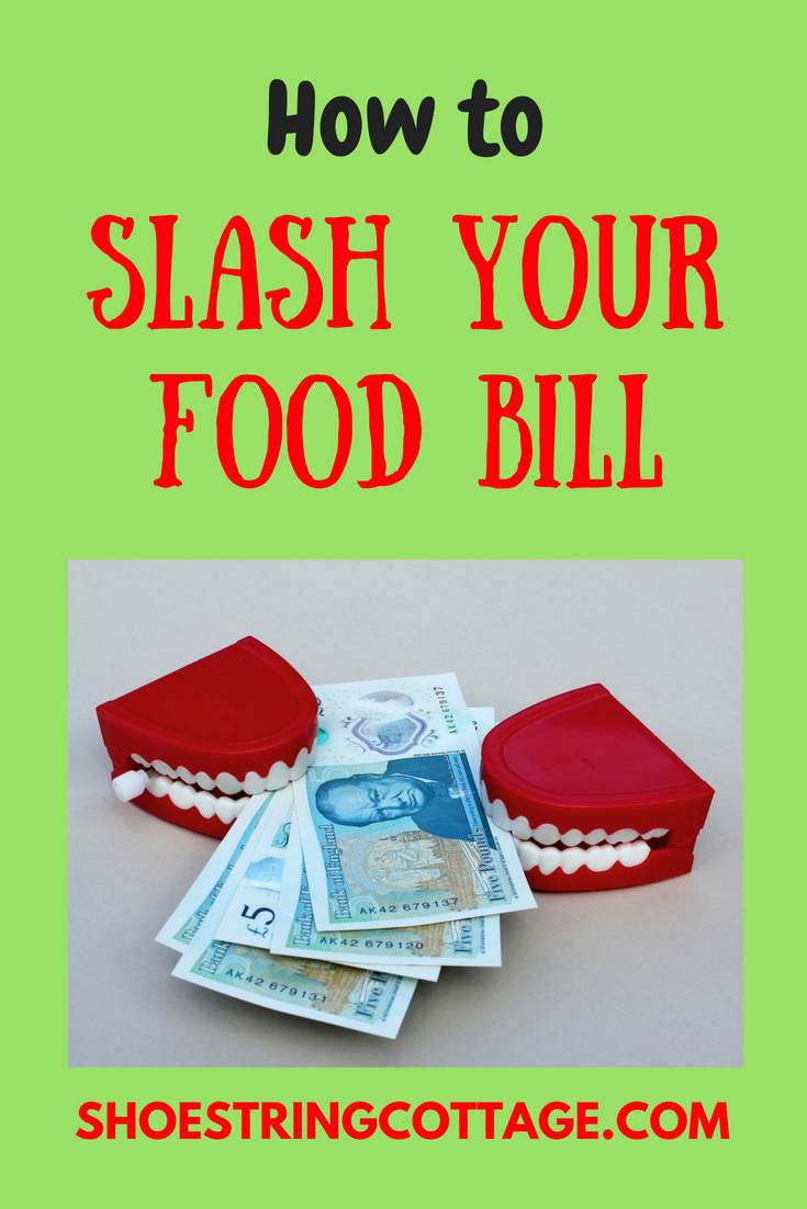 slash your food bill