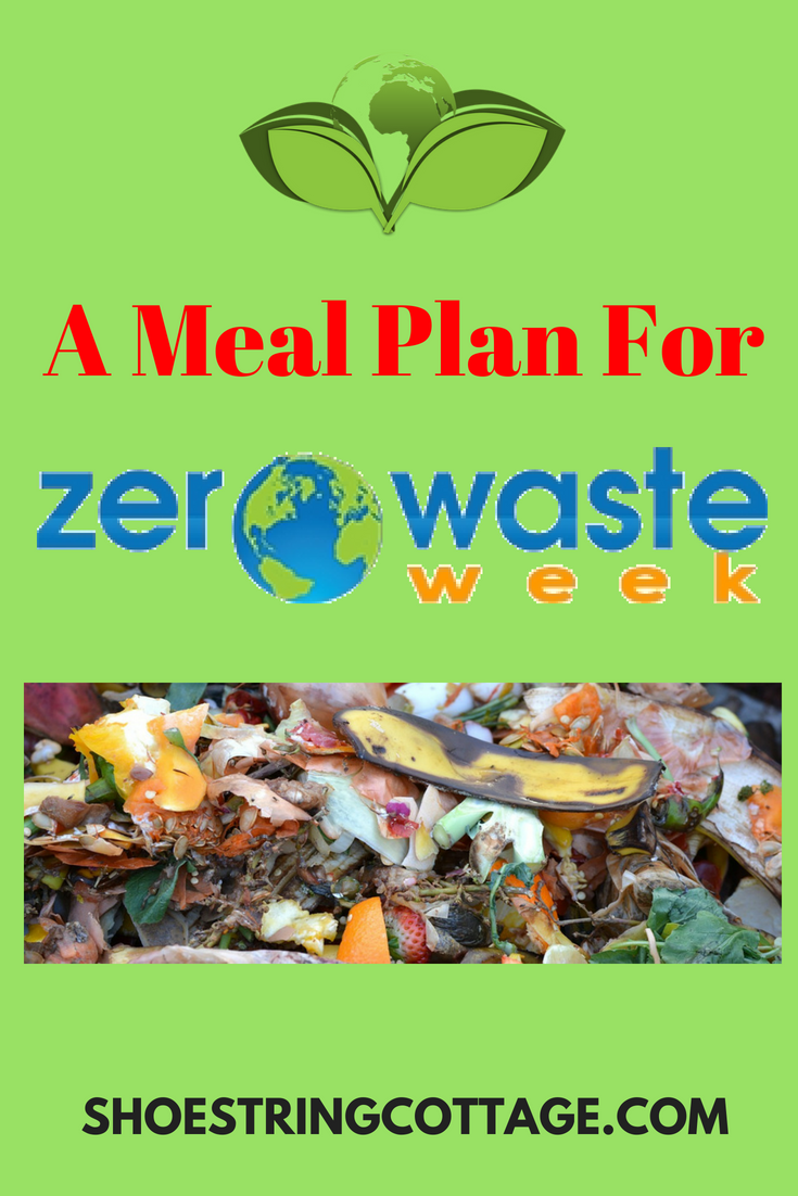 meal plan for zero waste week
