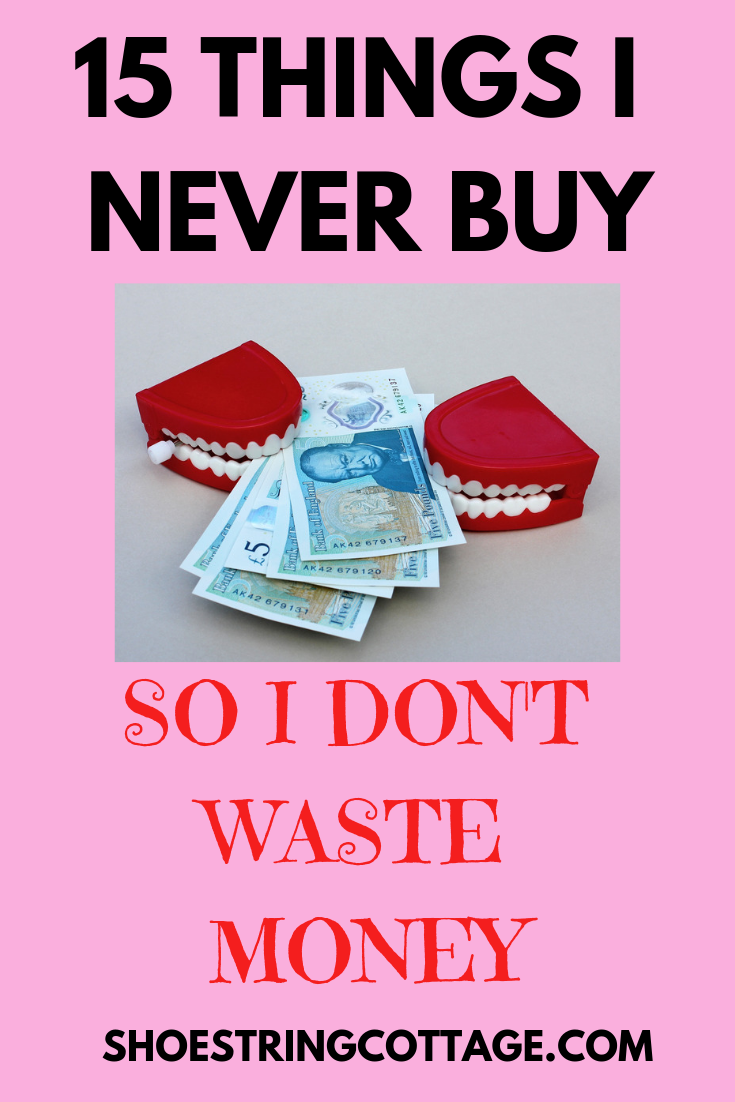 don't waste money