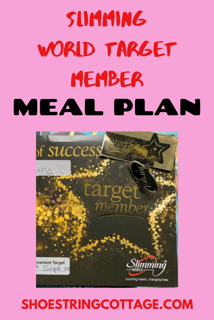 slimming world target member