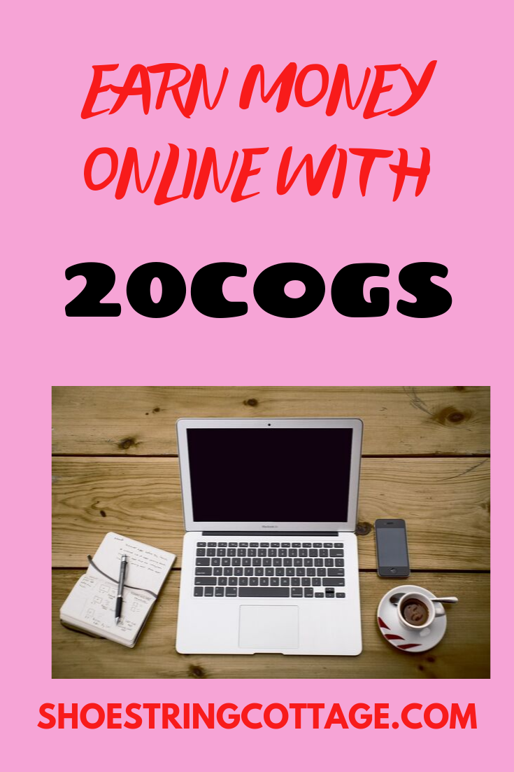 earn money online with 20Cogs
