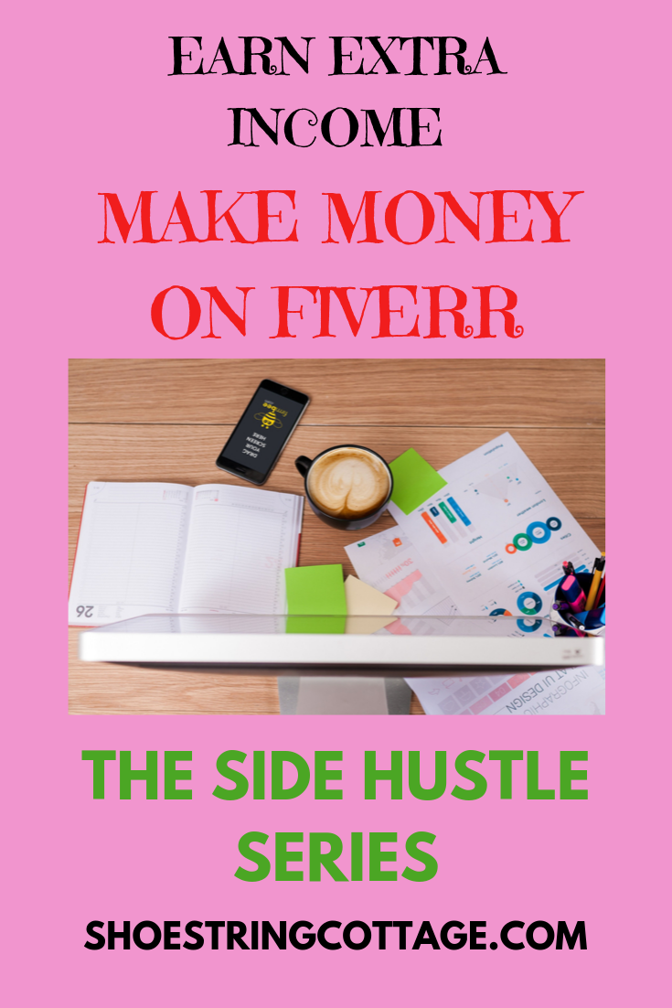 make money selling your services on Fiverr
