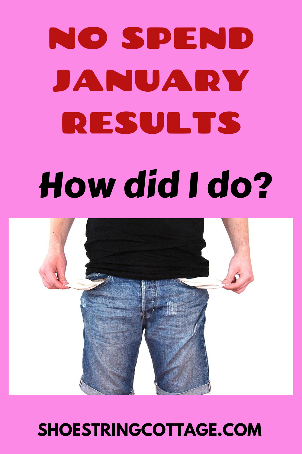 NO SPEND JANUARY RESULTS