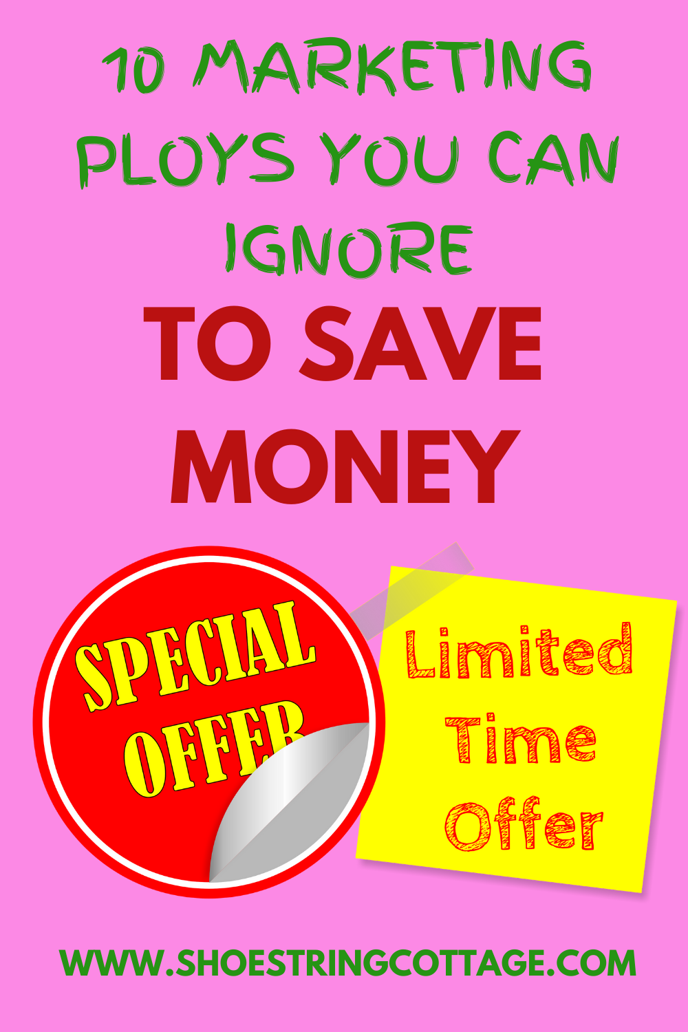 marketing ploys you can ignore to save money